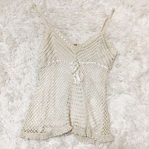 Vintage Faded Glory Fishnet Tank